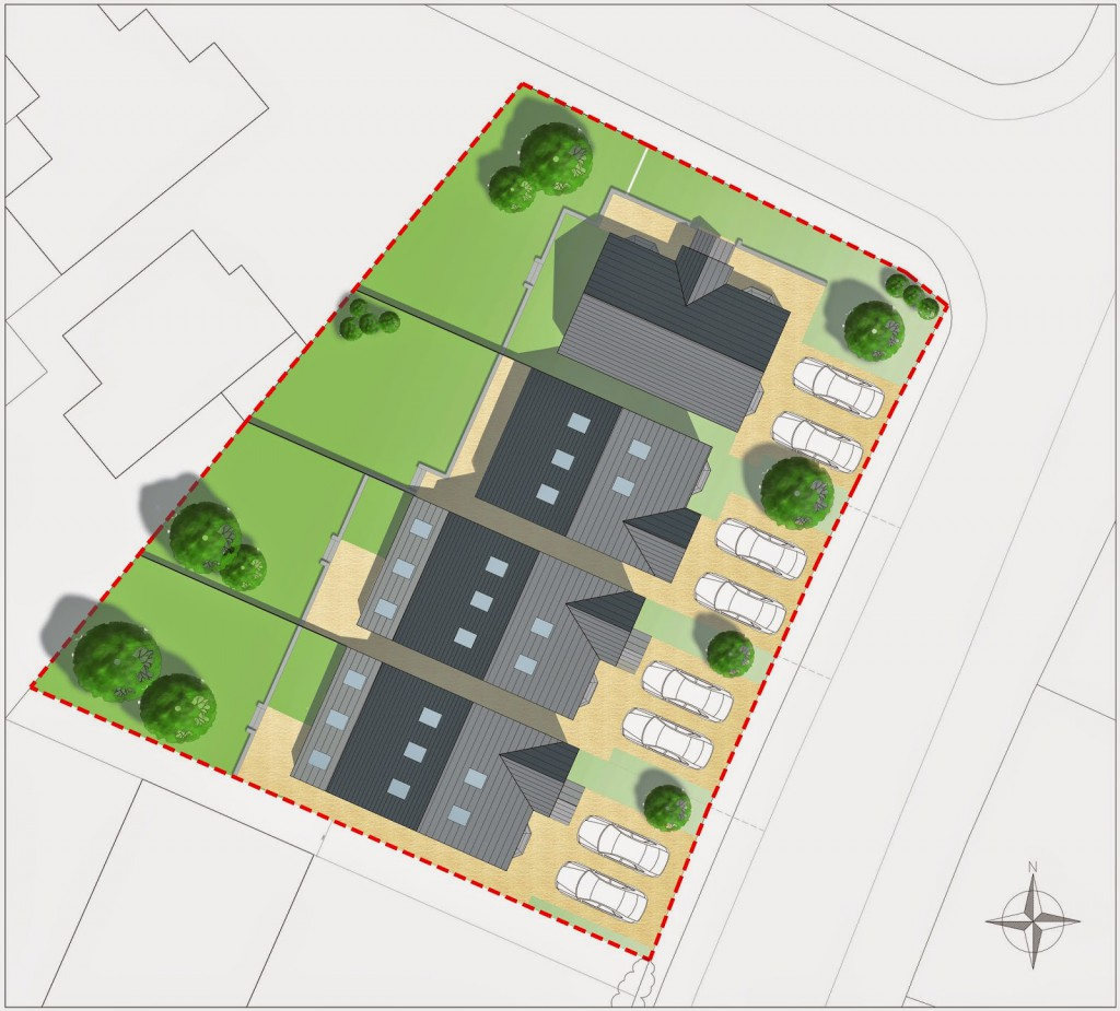 Vicarage Lane Site Plan