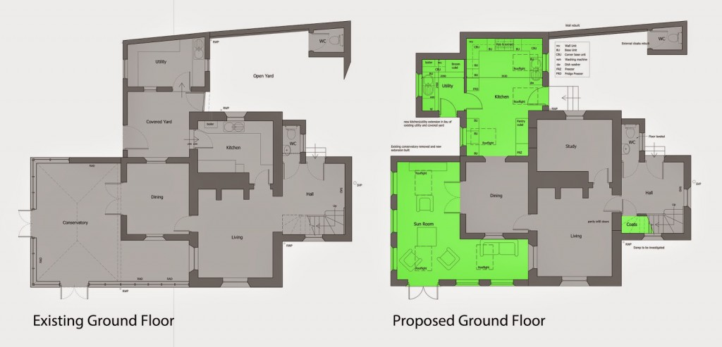 Existing & Proposed Plans