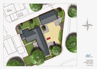 Barn Conversion Site Plan