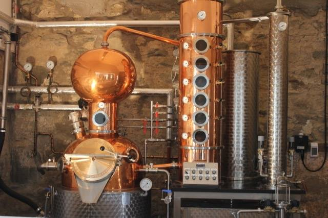 scottish craft gin copper still