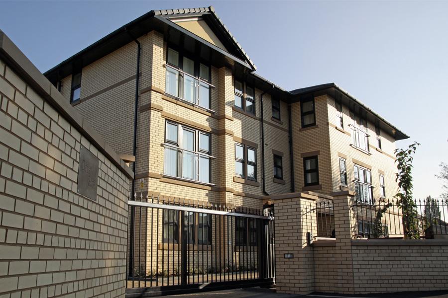 park gates residential development 3 storey apartment block, timperley