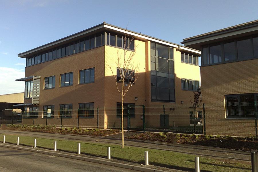 Office development blocks, Widnes Cheshire