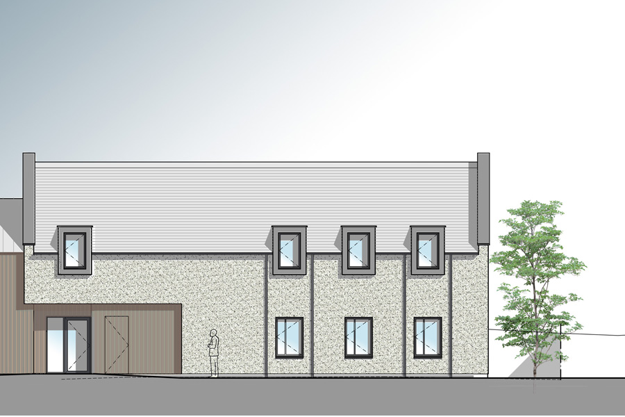 Boarding school extension to listed building, Edinburgh