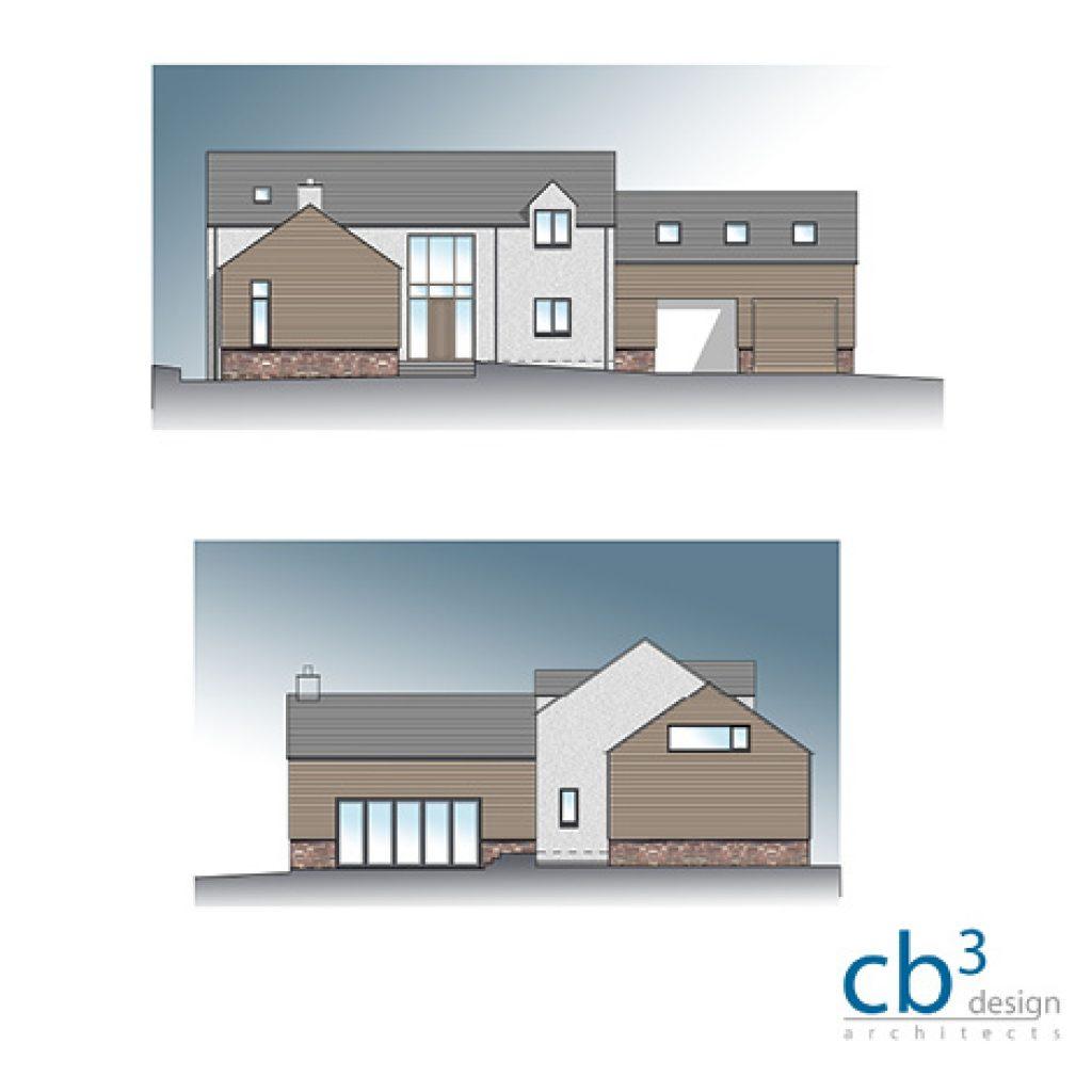 cb3 design New House nr Peebles