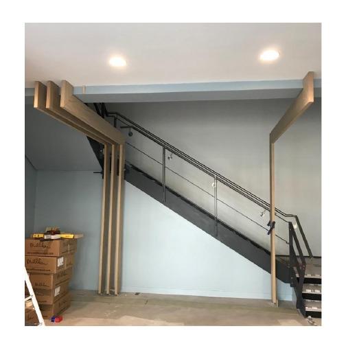 office reception refurbishment stair