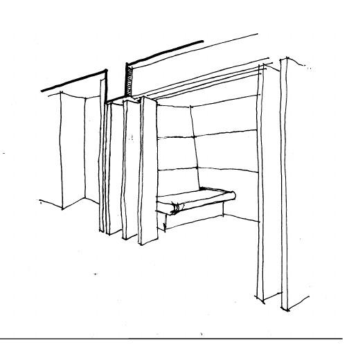 office refurbishment sketch