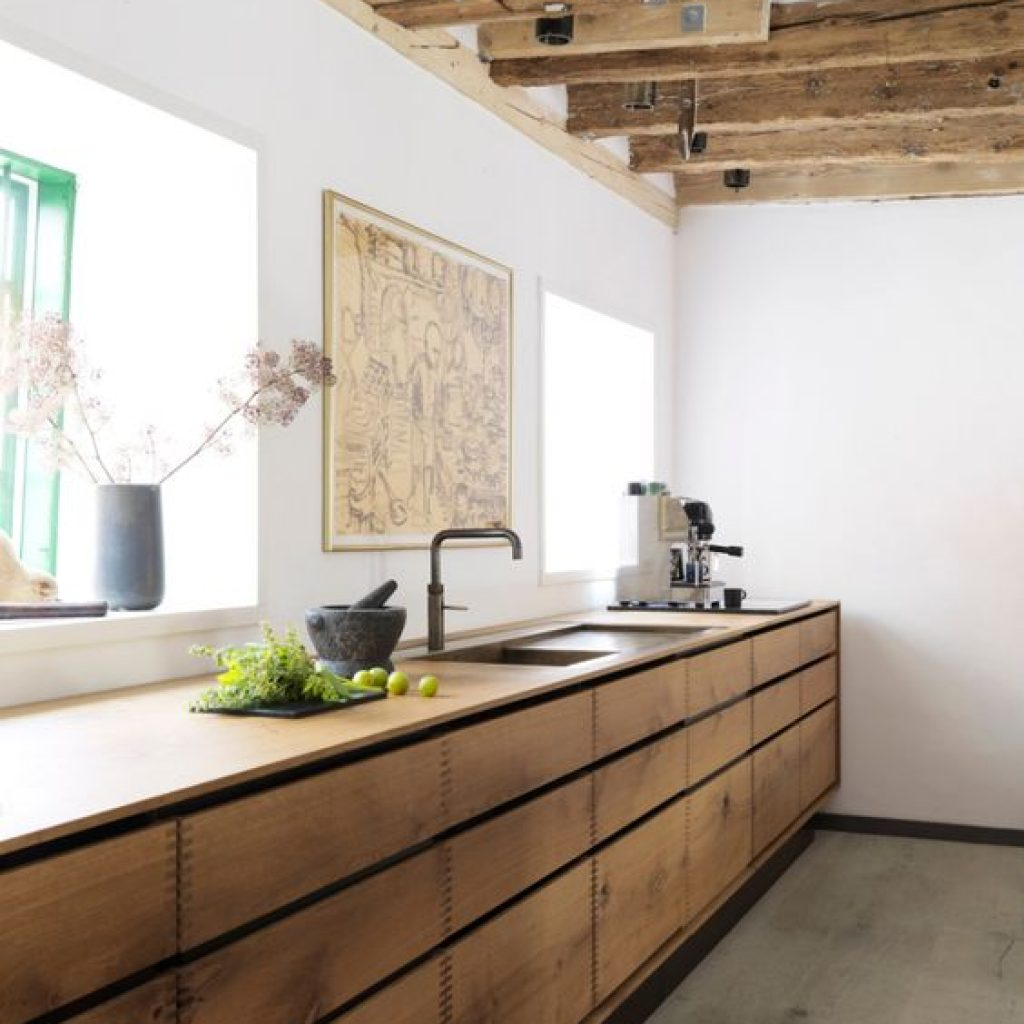 timber kitchen cabinets
