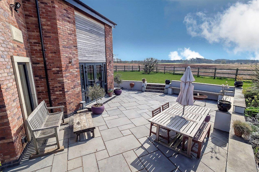 patio and outdoor dining, cb3design architects, tower lane lymm